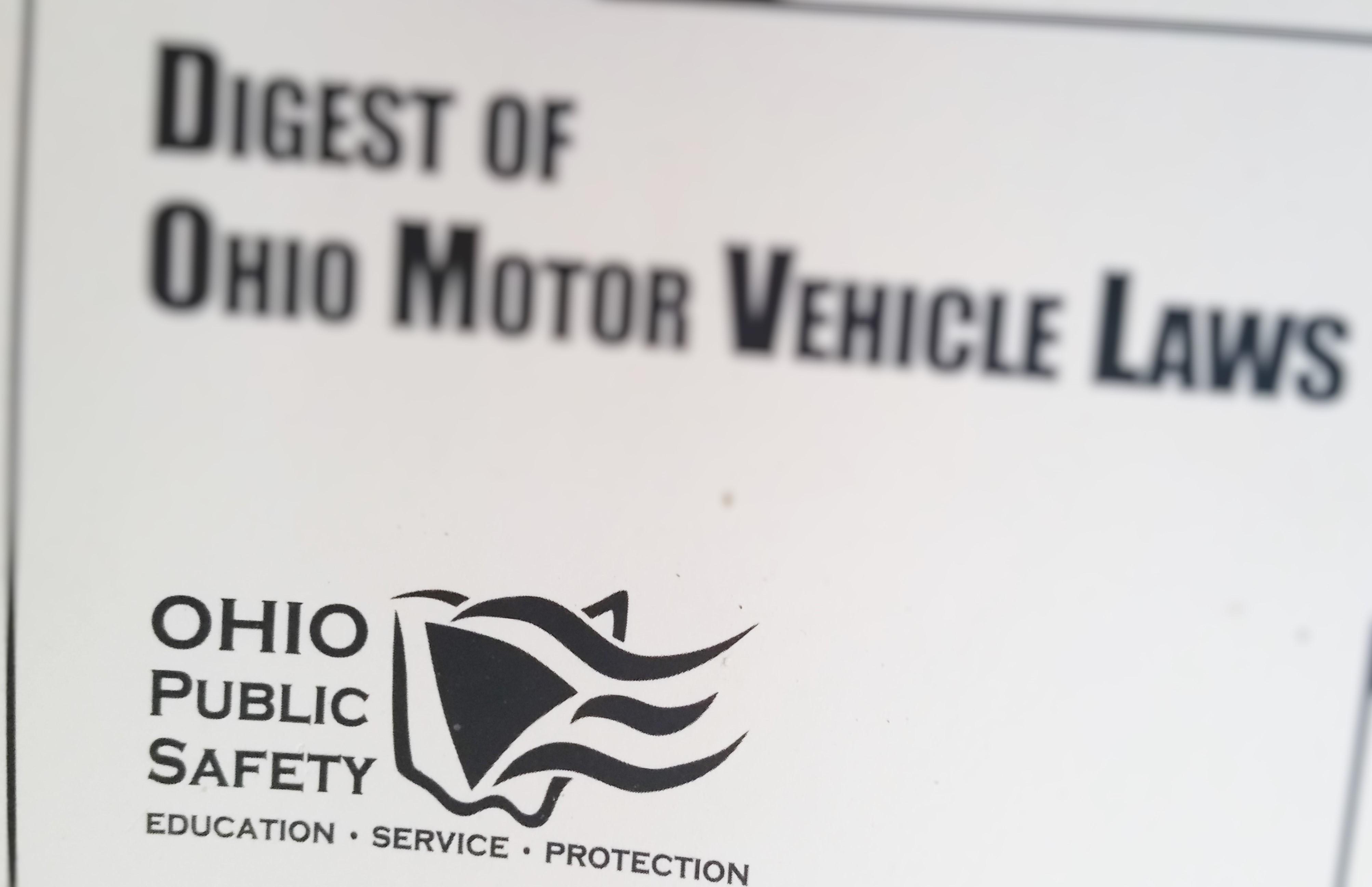 Ohio digest of motor vehicle laws for Bureau of motor vehicles deputy registrar license agency cleveland oh